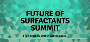 Future of Surfactants Summit in Madrid