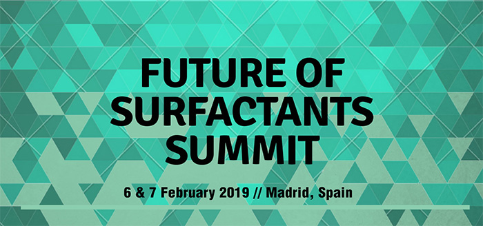 Future of Surfactants Summit in Madrid