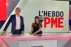 "Xavier Roussel was on BFM Business in the ""Hebdo des PME"""