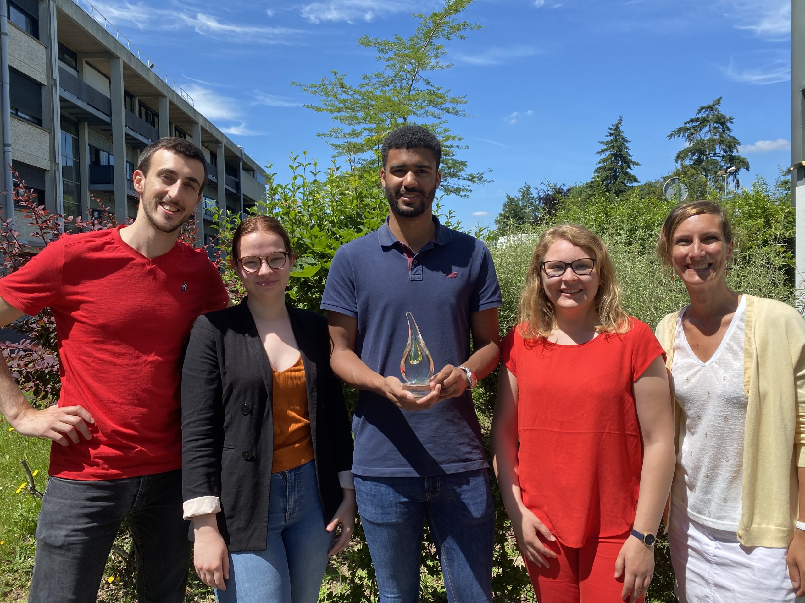 SufactGreen wins 3rd prize for formulation at E-Cosmet'Agora 2021!!